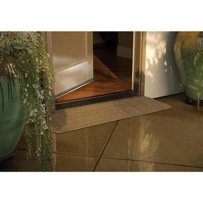PVI Rubber Threshold 8 x 42 inches