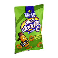 Wise Cheeze Doodle O's Puffed Corn Snacks