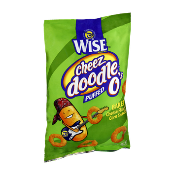 Wise Cheeze Doodle O's Baked Puffed Corn Snacks