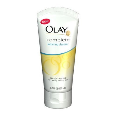 Olay Complete Lathering Cleanser, 6 Ounce (Pack of 3)