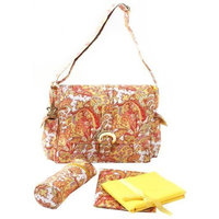 Kalencom Buckle Bag in Venice Yellow