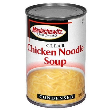 MANISCHEWITZ Chicken Noodle Soup, 10.5-Ounce Cans (Pack of 12)