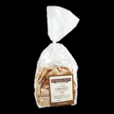 Di Bruno Bros. All Natural Crostini Artisan Crackers Onion Flavor