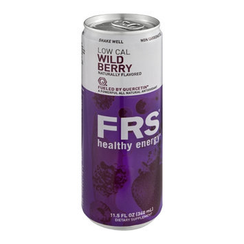 FRS Healthy Energy Dietary Supplement Drink Wild Berry