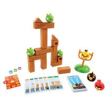 Mattel Angry Birds Knock On Wood Game