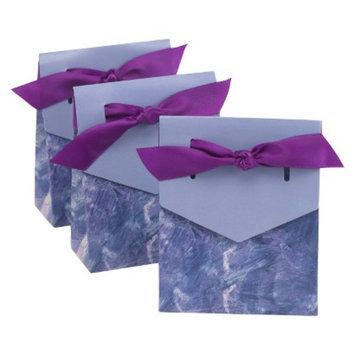 Hortense B. Hewitt Purple Swirl Tent Favor Box
