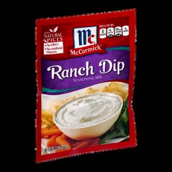 McCormick Seasoning Mix Ranch Dip