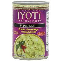 Jyoti Jaipur Karhi, Organic Potato Dumplings in Spicy Buttermilk Sauce, 425 Gram Cans, (Pack of 12)