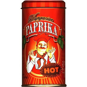 Hungarian Paprika, Hot (Bende Hungarian Hot Paprika), 8-Ounce Tins (Pack of 4)