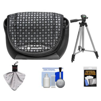 Vanguard Nivelo 15 Mirrorless Interchangeable Lens Digital Camera Case (Black) with Tripod + Accessory Kit