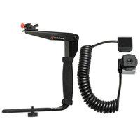 Stroboframe Quick Flip 350 Flash Bracket + Nikon iTTL Off-Camera Flash Cord for Nikon Digital SLR Camera
