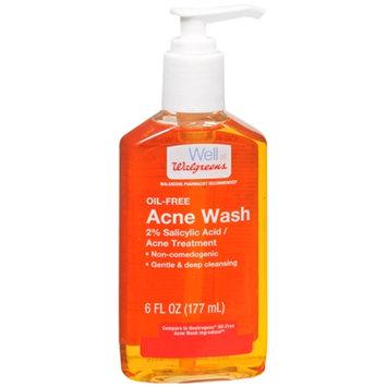 Walgreens Liquid Acne Wash