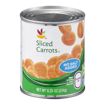 Ahold Carrots Sliced No Salt Added