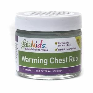 Gaia Herbs Kids Warming Chest Rub