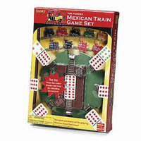 Fundex Games Mexican Train Game Hub Ages 8+
