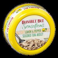 Bumble Bee Sensations Lemon & Pepper Seasoned Tuna Medley