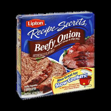 Lipton® Recipe Secrets Beefy Onion Recipe Soup & Dip Mix