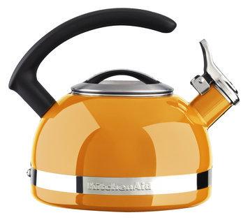 KitchenAid 2.0 Quart Porcelain Enamel Kettle - Mandarin Orange