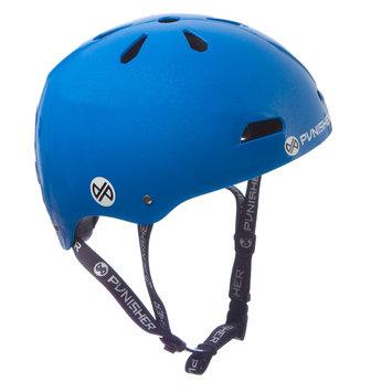 Punisher Skateboards 13-vent Bright Neon Blue Youth BMX/ Skateboard Helmet