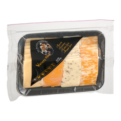 Les Petites Fermieres Cheese Sliced Variety Pack