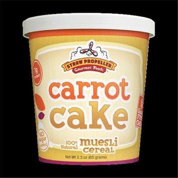 Straw Propeller Gourmet Foods 2.3 oz. Carrot Cake Cold Cereal Muesli Case Pack 12