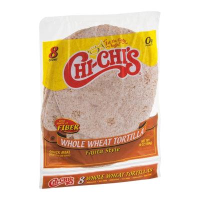 Chi-Chi's Whole Wheat Tortillas Fajita Style - 8 CT