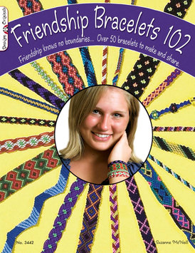 Dmc Dollfus-mieg & Cie DMC Friendship Bracelets 102 Book And Prism Floss Pack