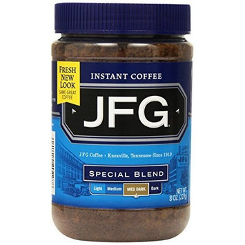 JFG Brands JFG Special Blend Instant Coffee, 8 Ounce Jars (Pack of 4)