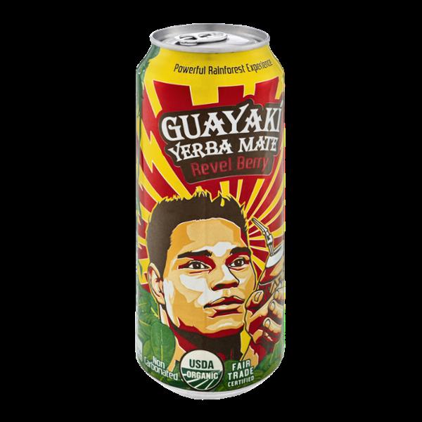 Guayaki Yerba Mate Revel Berry Organic