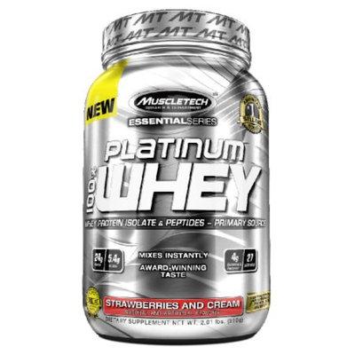 Muscletech Platinum 100% Whey Strawberries and Cream