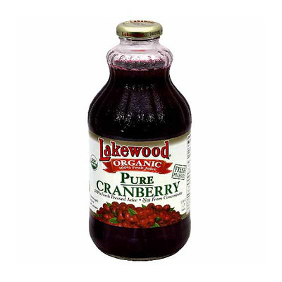 Lakewood Organic Pure Cranberry Juice