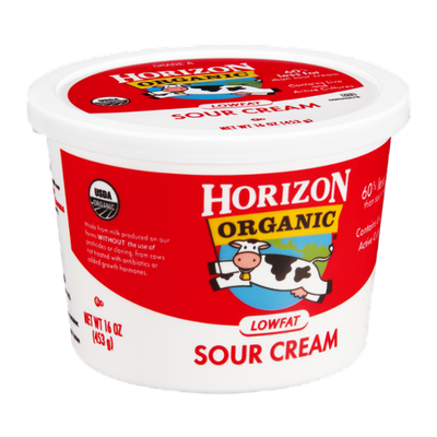 Horizon Organic Sour Cream Lowfat
