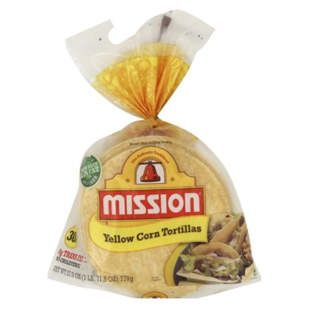 MISSION Mission Yellow Corn Tortillas 30 ct