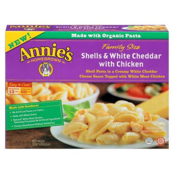 Annie's®  Homegrown Shells & White Cheddar with Chicken Meal
