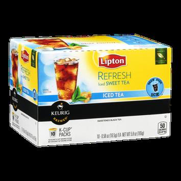Lipton Refresh Sweet Tea Iced Tea K-Cups - 10 CT