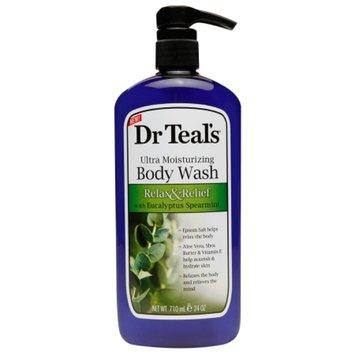 Dr. Teal's Ultra Moisturizing Body Wash, Relax & Relief with Eucalyptus Spearmint, 24 fl oz