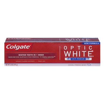 Colgate® OPTIC WHITE® ICY FRESH Toothpaste Cool Fresh Mint