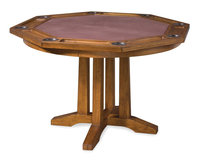 Home Styles Arts & Crafts Oak Finish Game Table Collection