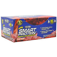 MuscleTech Smart Protein Energy Shot, Fruit Punch, 45 Grams Protein, 6 -Count