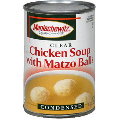 Generic Manischewitz Matzo Balls In Chicken Broth, 10.5 oz (Pack of 12)