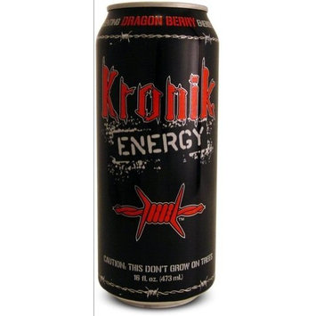 8 Pack - Kronik Energy - Dragon Berry - 16oz.