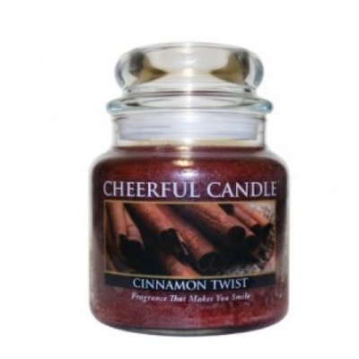 A Cheerful Candle CS13 CINNAMON TWIST 16OZ - Pack of 2