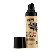 Lavera Natural Liquid Foundation (10H Long Lasting) # 04 Honey Beige 30Ml/1Oz
