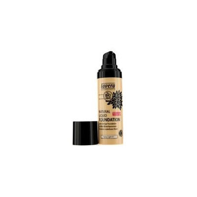 Lavera Natural Liquid Foundation (10H Long Lasting) # 01 Ivory Light 30Ml/1Oz