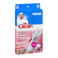 Mr. Clean Bliss Premium Latex-Free Gloves Size M