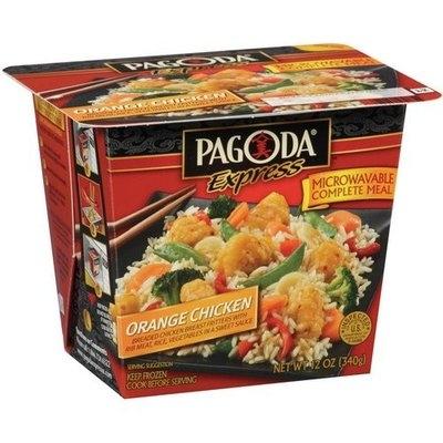 Pagoda Express Complete Meal Orange Chicken, 12 oz