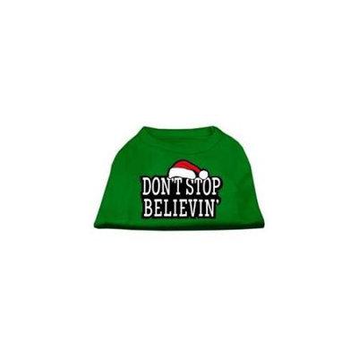 Ahi Don't Stop Believin' Screenprint Shirts Emerald Green Med (12)
