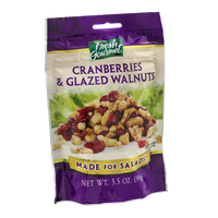 Fresh Gourmet Cranberries & Glazed Walnuts