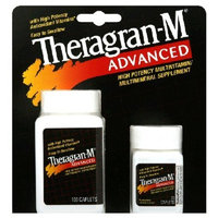 Advanced High Potency Multivitamin Multimineral Supplement,130 Caplets By Theragran-m