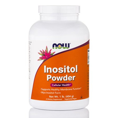 NOW Foods Inositol Powder 1 lb - Vegan
